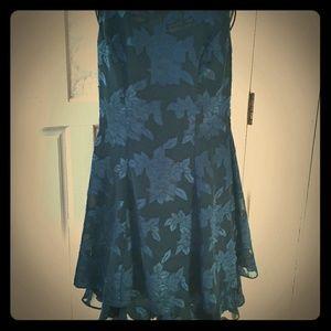 Teal Mini Dress